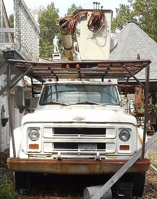 1969 Chevrolet Other  1969 Chevrolet C50 Forestry truck aerial lift and dump body for parts or repair