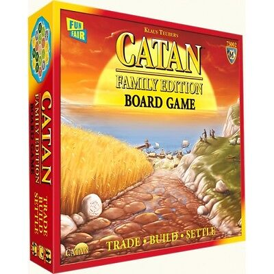 Settlers of Catan Family Edition Board Game Brand New