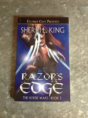 Razor's Edge : The Horde Wars 3 by Sherri L. King (2005, Paperback). Ellora.
