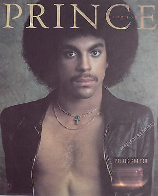 PRINCE Poster For You PROMO ONLY Folder 1978 Warners Official Rare USA Near Mint