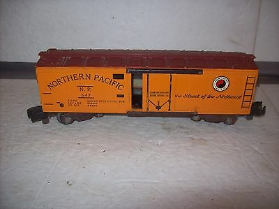 Vintage American Flyer #647 Northern Pacific Reefer Car