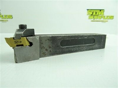 "Kennametal Indexable Top Notch Tool Holder Nsr-163D 1"" Shank +1 Carbide Inserts"