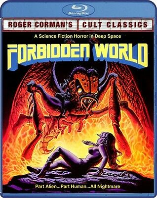 FORBIDDEN WORLD New Sealed Blu-ray Theatrical + Unrated Director's Cut