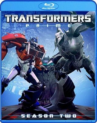 TRANSFORMERS PRIME COMPLETE SEASON TWO 2 New Sealed Blu-ray