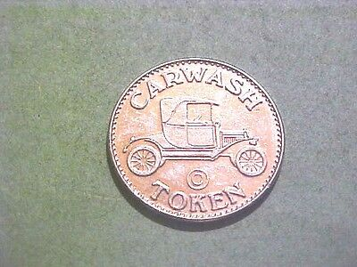 Ft. Washington Md Car Wash Token Billy's Auto Laundry 25 Mm Wm Antique Car S-21