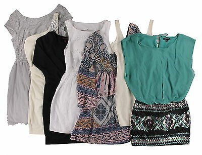 Wholesale Lot Women's Juniors Assorted Clothing New With Flaws 50 PC Apparel