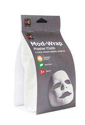 Plaster Cloth Bandage Mod-Wrap (Safe, Non-Toxic, Fast Drying) 10cm x 4.6m Roll