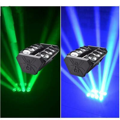 2Pcs 80W RGBW LED Spider Moving Head Light Stage Lights DJ Disco