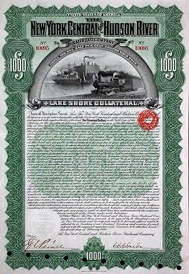 New York Central and Hudson River Railroad Company - 1898