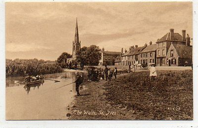 """""postcard The Waits,st.ives,huntingdonshire"""""
