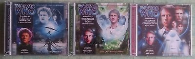 Dr Who CD's Monthly Big Finish Series 158 to 160 Doctor