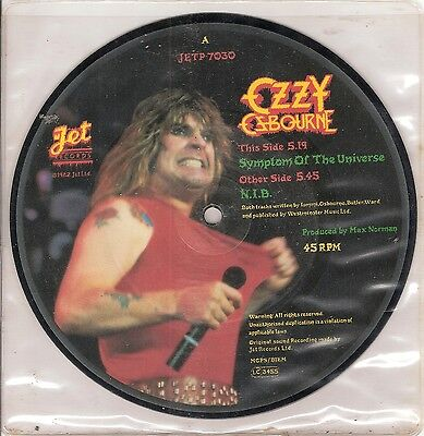 Ozzy Osbourne – Symptom of the Universe - PICTURE DISC vinyl 45