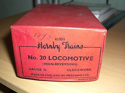 A Super Empty Hornby Locomotive Box