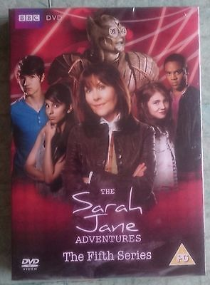 Sarah Jane Smith DVD's Series 5 Doctor Dr Who tie in Shrink wrapped BBC