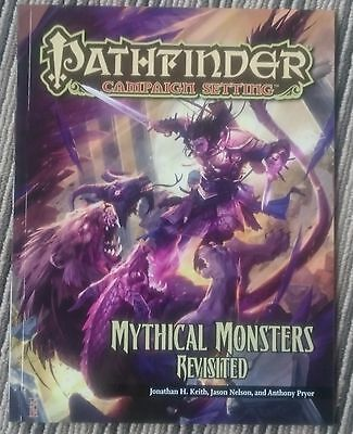 Pathfinder Campaign Setting Mythical Monsters Revisited Paizo