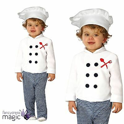 *Baby Toddler Boys Girls Master Chef Cook Job Role Play Fancy Dress Costume Hat*