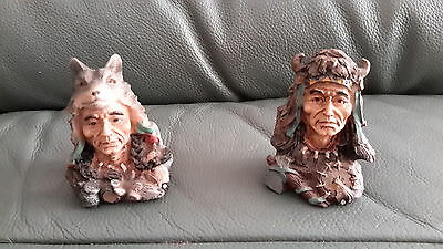 Indians Heads Ornaments