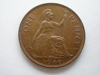 1946 George Vi Penny - Uncirculated - Uk Post Free