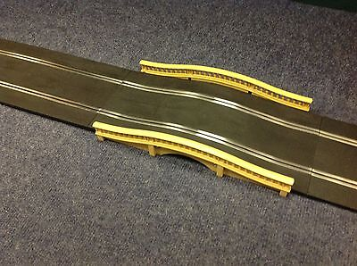 Scalextric Digital Sports Track Humpback Bridge Set Exc Condition Tested
