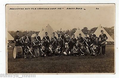 Wales, Abergele Military Camp, Manchester Battn., Boys Lads Brigade Brass Band