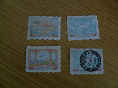 Greece 1926 airs mounted mint and used Cat value £55+ Ref UF1