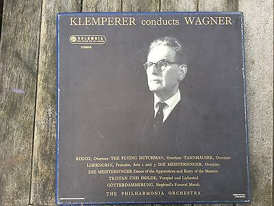Klemperer Conducts Wagner - 2 lp Box Set Columbia SAX 2347/2348 Stereo B/s