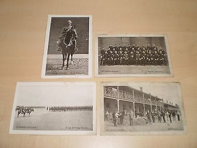 c1910 Four Postcards Of Kings Hussars By Gale&Polden