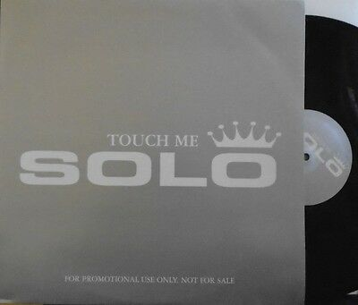 "SOLO ~ Touch Me ~ 12"" Single PS PROMO"