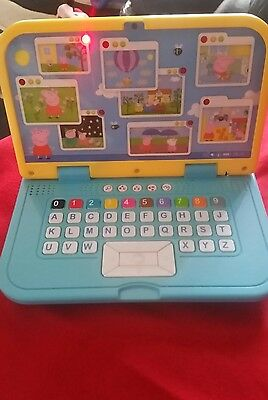 peppa pig electronic toy computer