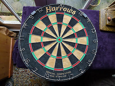 Harrows competition professional dartboard