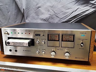 NICE Pioneer Model RH-65 Stereo 8-track tape recording deck component