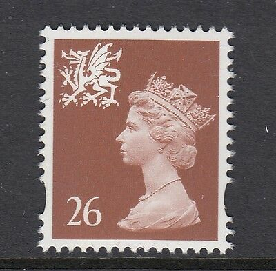 WALES 1997  26p  PERF 15 x 14   SG W80    UNMOUNTED MINT