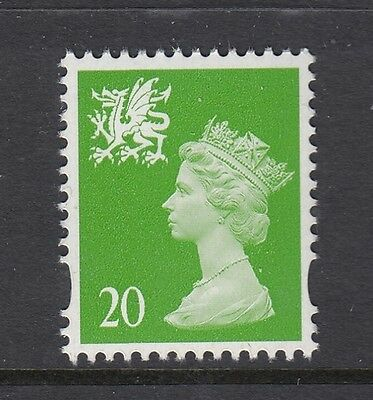 WALES 1998  20p  RIGHT BAND  PERF 14  SG W79a    UNMOUNTED MINT