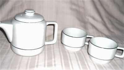 Toscany Teapot With 2 Matching Cups