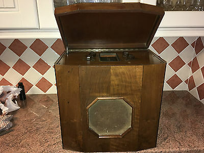 Vintage 1930s Valve Radio,Pye SP/B,Good Cond.,As Found,Superb Project,Complete