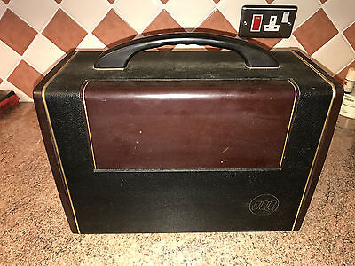 Vintage Battery/Mains Valve Radio,Murphy BA228,c1955,Nice Set,Signs of Life
