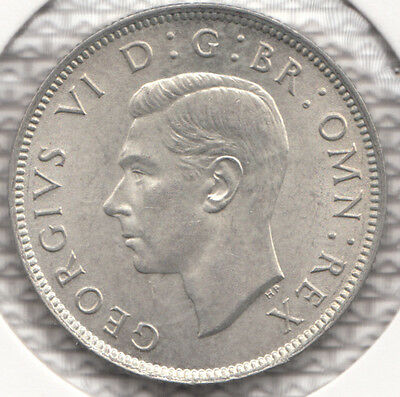 "1946 George Vi Silver Florin ""bu""  Spink S4081 Esc 966 A Very Nice Coin"
