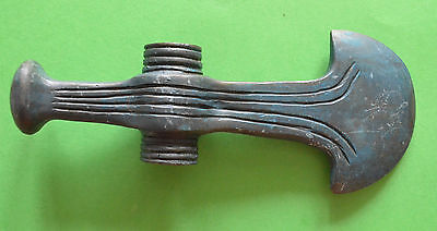 Medievil Viking period  Bronze Ax with drawing