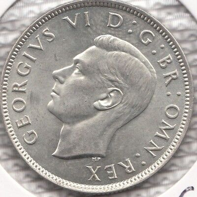 "1943 George Vi Silver Florin ""bu""  Spink S4081 Esc 963 A Very Nice Coin"