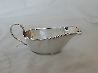Antique Joseph Rodgers And Sons Silver Plated Sauce Boat