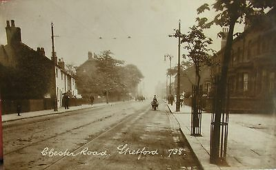 Tranquil Chester Road Stretford Manchester Lancashire 1911 Rp Pc