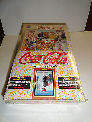 Coca Cola  Series 4 Trading Cards Box    Sealed
