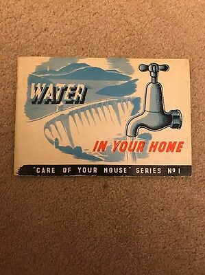 Water In Your Home Vintage Book