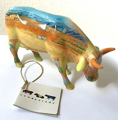 Cows on Parade VINCENT VAN COGH GOGH 2000 Ceramic Figurine Arles France Scene