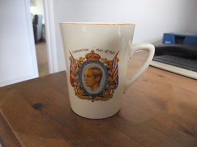 Coronation Mug King Edward VIII May 12th 1937