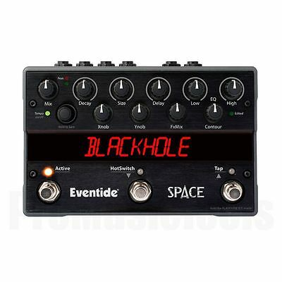 Eventide Space Reverb - demo * NEW * stompbox hall time factor