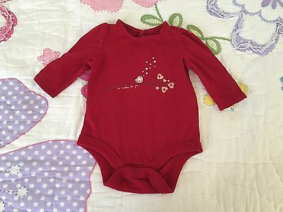 Baby Gap baby girl bodysuit/shirt size 0-3 months old