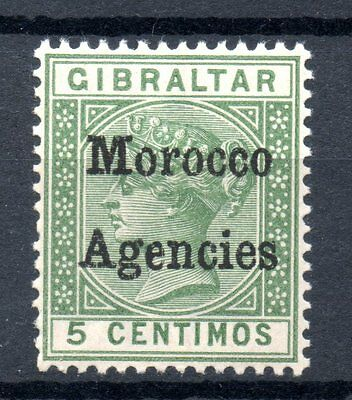 MOROCCO AGENCIES Victoria 5c 1898 Gibraltar Chronicle Ovpt Unmounted Mint