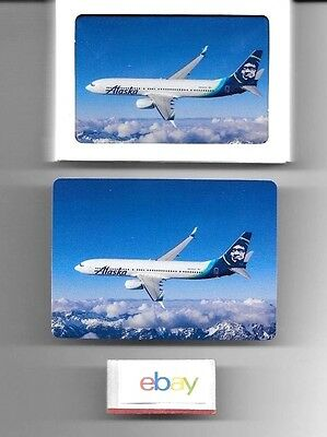 Alaska Airlines 2016 New Livery Playing Cards Boeing 737-900