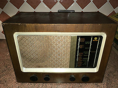 Vintage 1940s Valve Radio,Pye 15A,Good Cond.,As Found,Superb Project,Complete